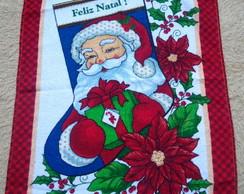 Pano De Prato Natal Vermelho