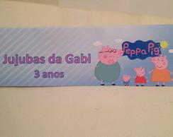 Lapela para jujubas e Balas - Peppa Pig