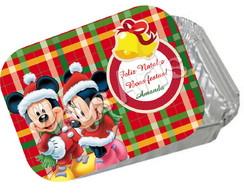 Marmitinha Natal Mickey e minnie