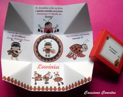 Convite Caixa Joaninhas
