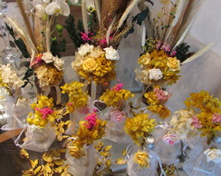Kit arranjo flores secas & aromatizador