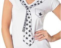 Camiseta Baby Look Feminina