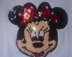 CAMISETA CUSTOMIZADA MINNIE