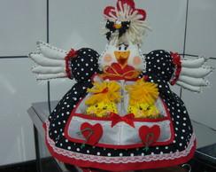 Cobre bolo galinha Jujuzinha