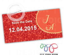 Casamento - Save The Date - Floral 5