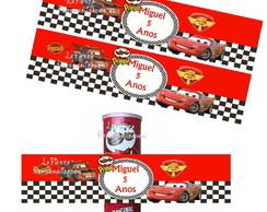 Rotulo Batata Pringles Carros