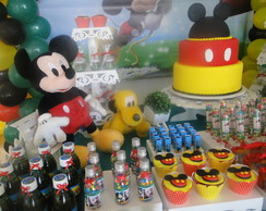 DECORA��O INFANTIL - MICKEY MOUSE -KIT 5