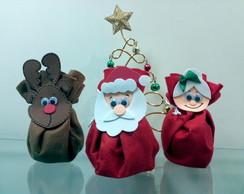 Porta Guloseimas de Natal