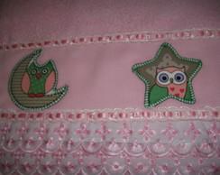 Toalha de Banho Infantil Patch Aplique.