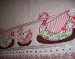 Toalha de Banho Infantil Patchcolagem.