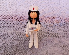 Boneca Personalizada! ENFERMEIRA