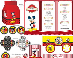 Kit Digital Mickey REF 1240
