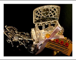 Lembran�a Carruagem sapatinho de cristal