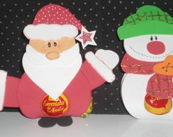 Porta Bombom do Natal