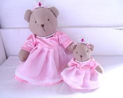 """Ursas Princesas """"P e G"""""""