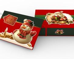 �lbum De Fotos de Natal com caixa .