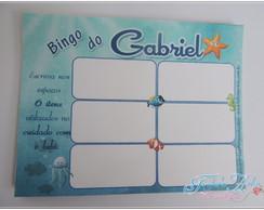 12 Cartelas para Bingo personalizadas