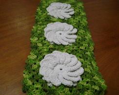 Porta Papel hig.de croch� de 6lugares