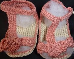 Sand�lias Em Croch� tran�ada