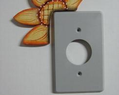vista de chave de luz girassol