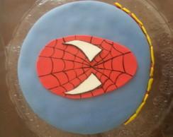 Bolo Personalizado Homem Aranha