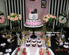 Decora��o tema Paris