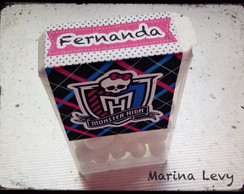 R�tulo Tic-Tac - Monster High