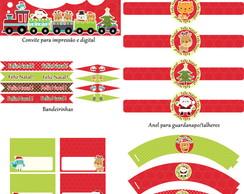 Kit Para Impress�o - Natal1
