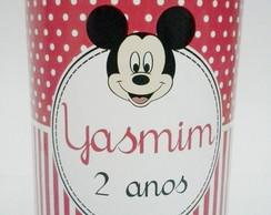 R�tulo Para Lata De Leite 400g Mickey