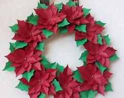 Guirlanda de Natal, Flores de Papel
