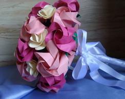 Buqu� de Noiva Origami