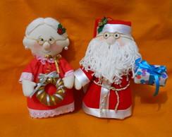Casal Noel Decorativo