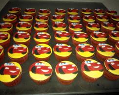 Cupcakes Carros - Rel�mpago McQueen