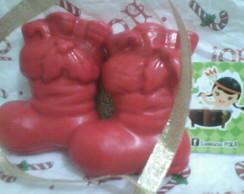 Sabonetes Bota do Papai Noel