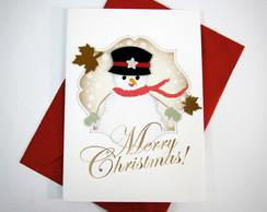 Cart�o Natal Gelinho
