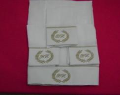 Kit fraldinha de boca + fralda de ombro