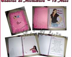 Caderno De Assinatura 15 Anos  - Grande