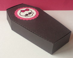 Caixa caix�o Monster High