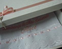 Caixa lembran�a batizado/casamento