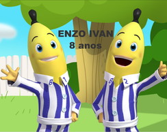 Kit anivers�rio - Bananas de Pijamas