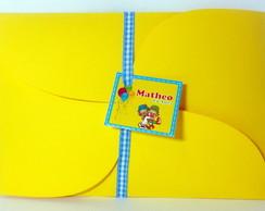 Convite Infantil Patati Patat�