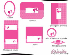 Kit Digital Barbie 1