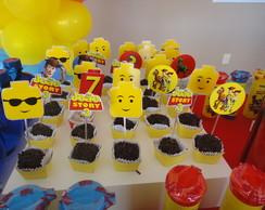Toppers Lego e toy story com recorte