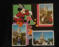 MICKEY E MINNIE  SCRAPBOOK  PARA FOTO