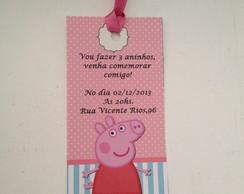 Convite Pepa Pig
