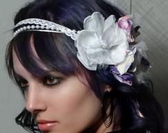 Headband Amora noiva