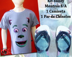 Kit Sulley Monstros S/A