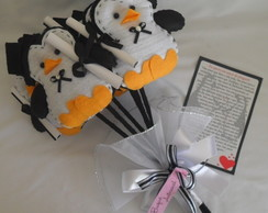 Buqu� Amor de Pinguins