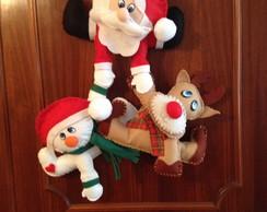 Guirlanda de Natal Para Porta ou Lareira