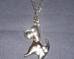 Colar Cachorrinho co Strass